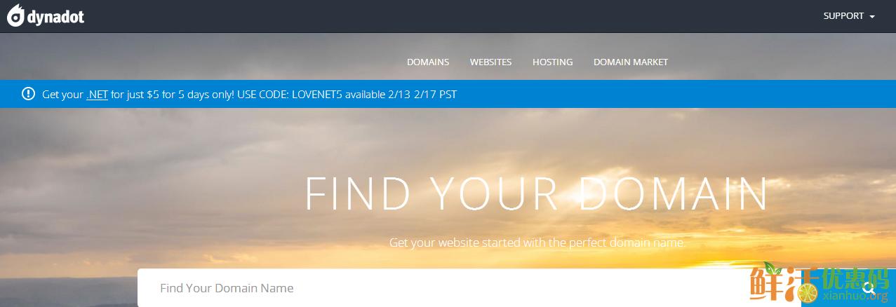 dynadot优惠码 .net域名仅需5美元首年